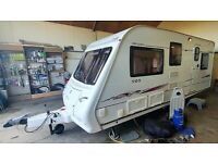 EXCEPTIONAL COMPASS 5 BERTH (FIXED BED) MOTOR MOVER