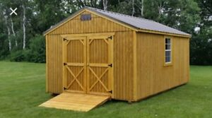 Old Hickory Sheds and mini barns for sale.
