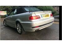 Stunning Silver BMW Coupe 320 Convertible
