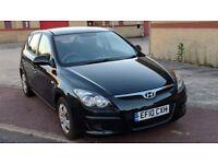2010 Hyundai i30 Classic 1.4 Petrol Manual / FSH / Black / 65k / MOT