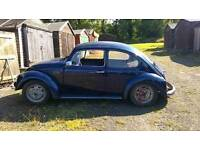 1971 VW Beetle unfinished project