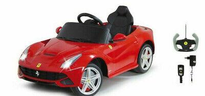 Ferrari Infantil Elektro Auto Batería Vehículo Eléctrico Teledirigido F12