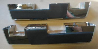 Mopar 64-66 A B C Body Front Armrest Pads and Bases NEW 66 Armrest Base
