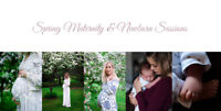 Spring Maternity & Newborn Portrait package deal