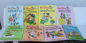 Walt Disney Fun to Learn Library ( group of 7 books)+2 others