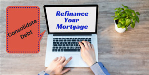 Get approved for mortgage refinance without having to go through