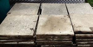 Patio paver stones