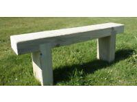 Railway Sleeper bench garden furniture sets summer furniture set Loughview Joinery LTD