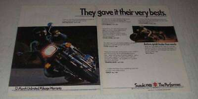 1981 Suzuki GS-1100 Motorcycle Ad - Very Bests