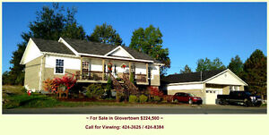 Retiring? Moving?  Mastercrafted Home/Glovertown/ Move in Ready