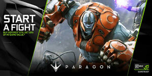 NVIDIA GTX PROMO CODE - $115 of in-game value of Paragon