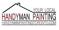 LOOKING for a PAINTER? CALL US @ HANDYMAN PAINTING TORONTO