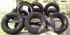Tires 15,14 and 13 inch