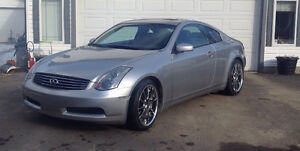 2003 Infiniti G35 Fully loaded Coupe (2 door)
