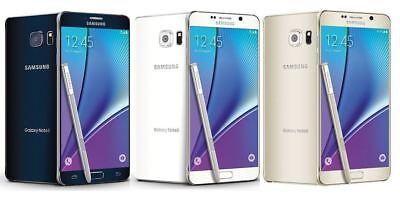Samsung Galaxy Note 5 N920A AT&T + GSM UNLOCKED 4G LTE 32GB 64GB GSM SmartPhone
