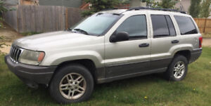 2003 Jeep Grand Cherokee Laredo for parts