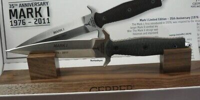 GERBER MARK 1 - 35th Anniversary Survival Knife Brand New Mint Condition LE 1500
