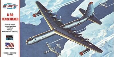 Atlantis Revell 205 B-36 Peacemaker Bomber plastic model kit 1/184