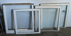 Antique Wood Framed Glass Windows from century home Kawartha Lakes Peterborough Area image 2