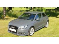 2015 '15' AUDI A1 1.4 TFSi [150] S-LINE IN STUNNING NANO GREY. ONLY 39,700 MILES