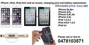 iPhone 6S,6,5,5S,5C 4S/iPad Screen /charging port Repair from $70 Thornlie Gosnells Area Preview