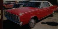 1966 Convertible Signet Valiant- excellent condition-much loved!