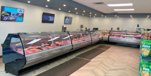 Refrigerated, Cheese, Deli, Meat, Fish / Sea food display cases