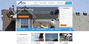 Professional Roofer Website For Sale, Roofing Website