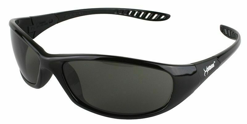 Kleenguard  V40 HellRaiser 25714 Scratch-Resistant Safety Glasses Smoke Lens Business & Industrial