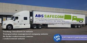 Abssafecom - Transportation management company Ontario