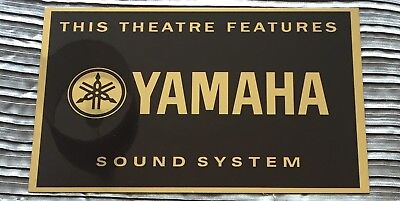 Yamaha Cinema Sign