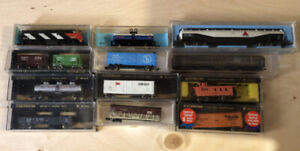 N-Scale Model Trains & Track + Accessories