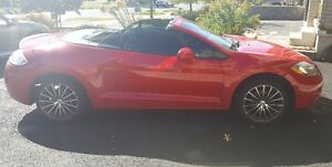 2007 Mitsubishi Eclipse Convertible (RED, SPYDER)