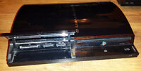 PS3 Phat 80GB For Parts Or Repair. PS2 Compatible.
