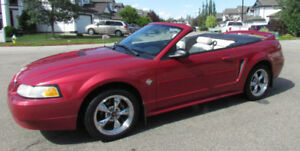 1999 Mustang Convertible 3.8L 35th Anniversary Edition