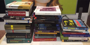 Electronics, Engineering, Science, and Humanities Textbooks