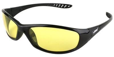 Kleenguard Hellraiser Safety Glasses Sunglasses Work Eyewear Amber Lens Ansi Z87