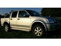 Isuzu rodeo brilliant motor not hilux navara warrior and not been off-roaded used for work