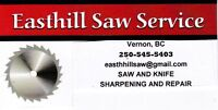 Saw Sharpening and Repair in Vernon, BC