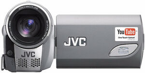 JVC Everio S GZ-MS100 Flash Memory Camcorder with 35x Optical Zo