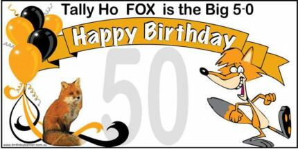 50th Birthday Banners Port Lincoln 5606 Port Lincoln Area Preview