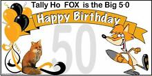 50th Birthday Banners Port Lincoln Port Lincoln Area Preview