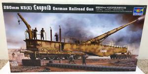 Trumpeter 1/35 Leopold K-5 Rail gun