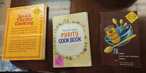Various 1950's 1960's Cook Books
