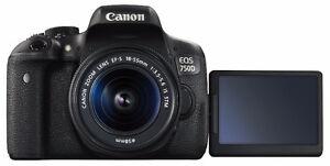 Canon T6i + lentille VLOGGING YOUTUBE