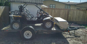 2005 Nomad Dune Buggy and Trailer