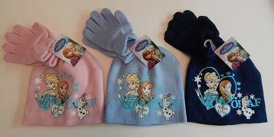 ♥ Die Eiskönigin ♥ Anna und Elsa ♥ Mütze + Handschuhe ♥ von Disney ♥ Neu & OVP