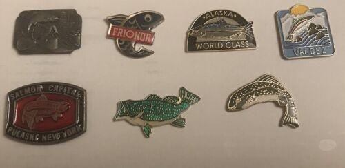 Vintage fishing pins