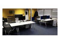 White 1400mm Desks