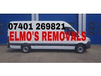ELMO IS BACK:::Man with a big van removals - Brighton, Worthing, Sussex and nationwide
